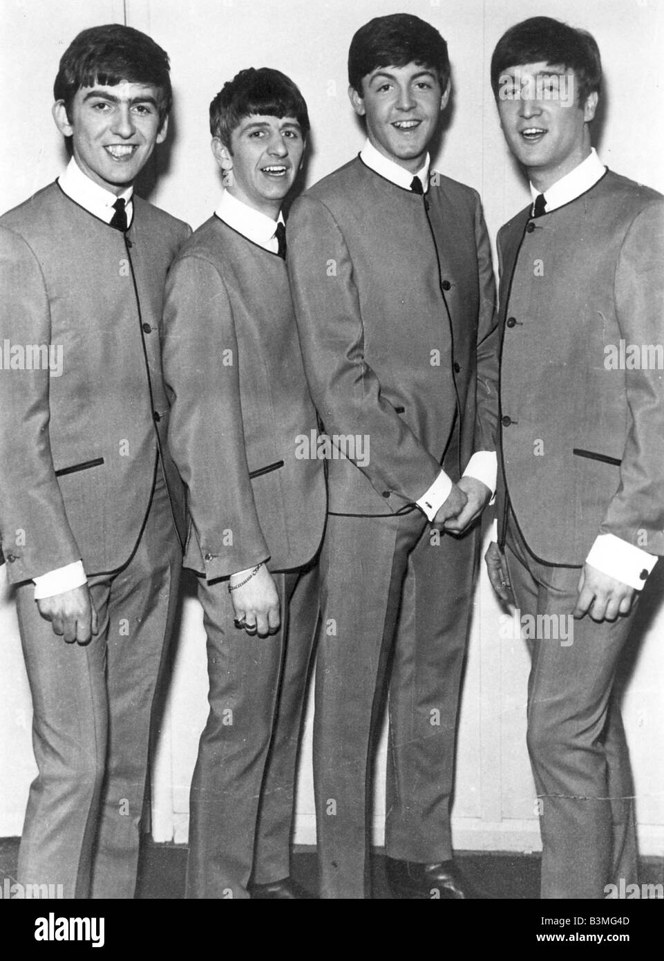 BEATLES In The Famous Grey Suits 1963
