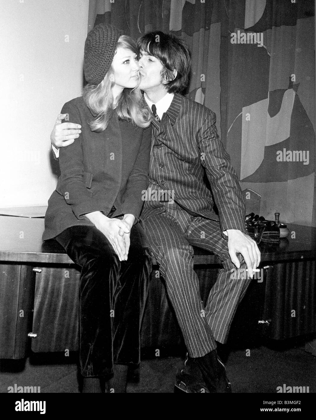 GEORGE HARRISON And Patti Boyd Announce Their Engagement In December 1965