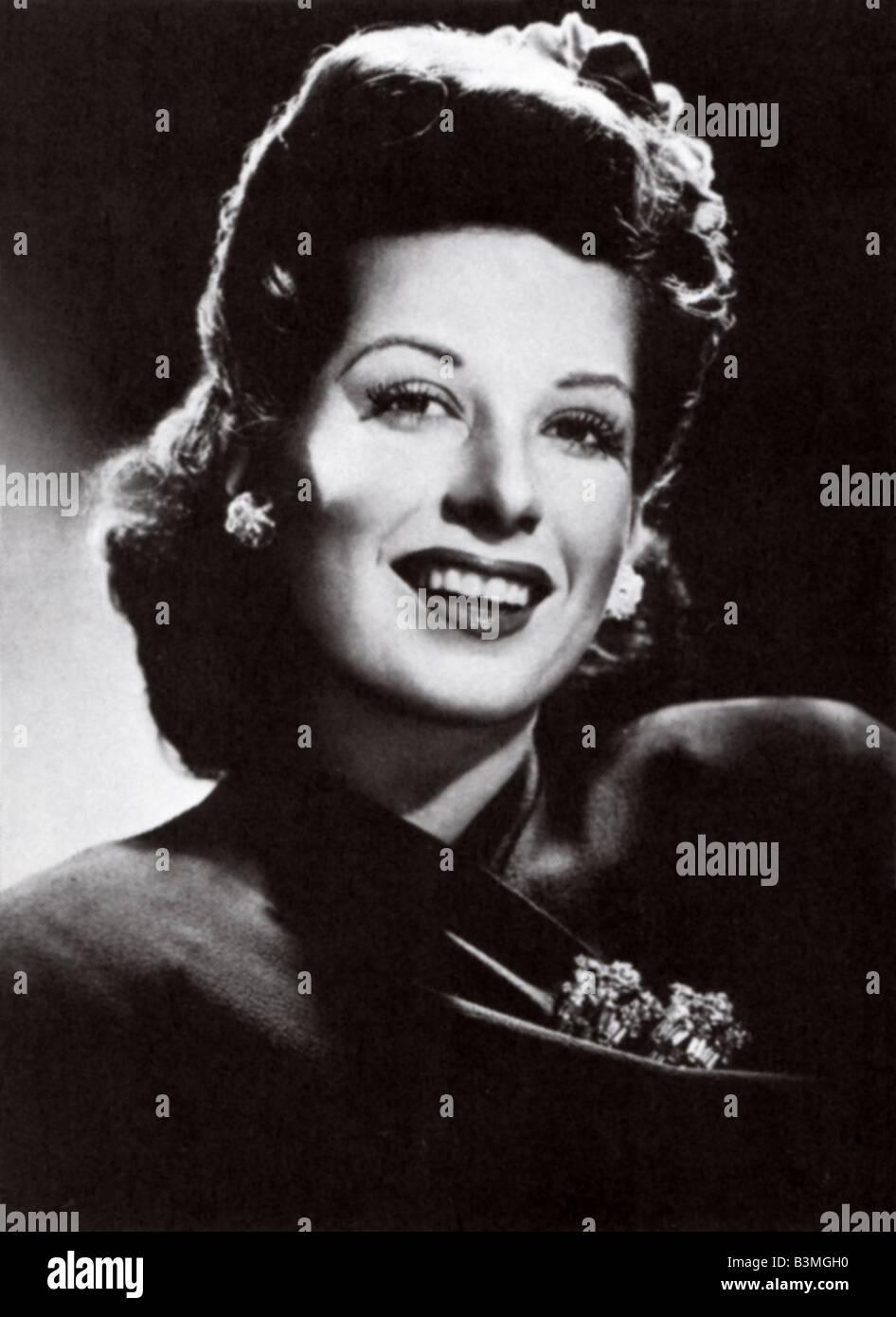 HELEN FORREST US jazz singer 1917 to 1999 - Stock Image