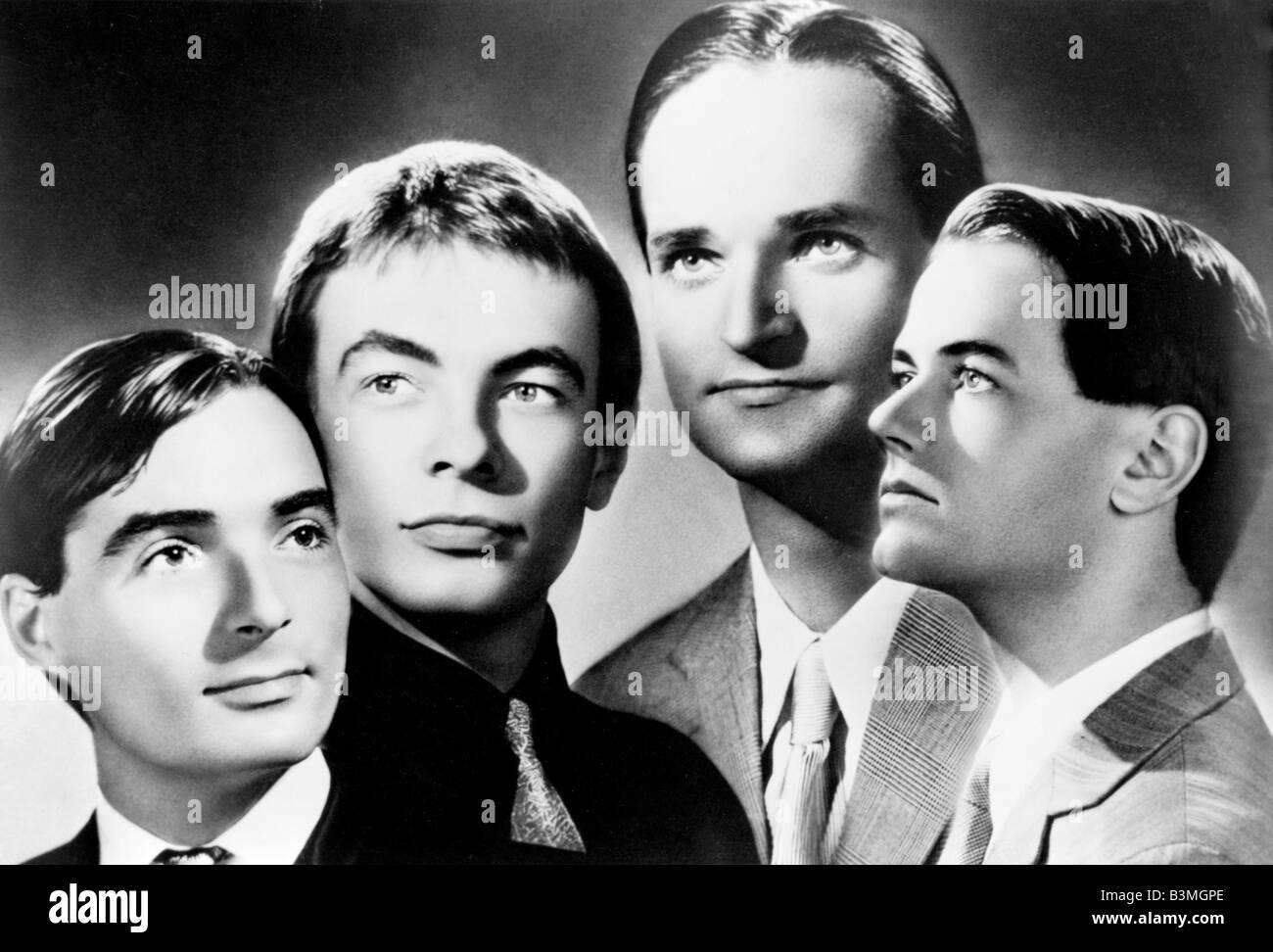 KRAFTWERK 1980s German Pop Group