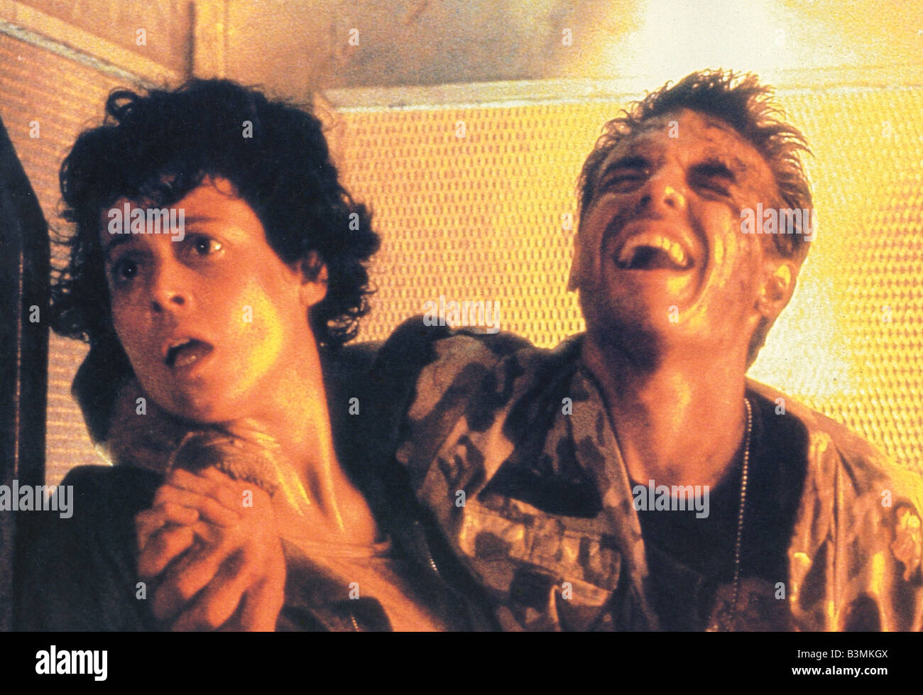 ALIENS 1986 TCF/Brandywine film with Sigourney Weaver - Stock Image