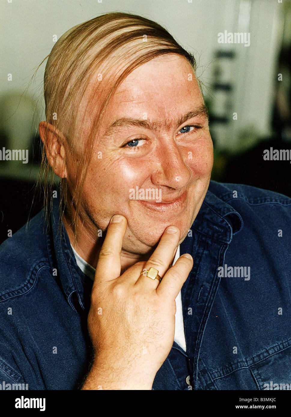 gregor fisher actor comedian as the baldy man character stock photo
