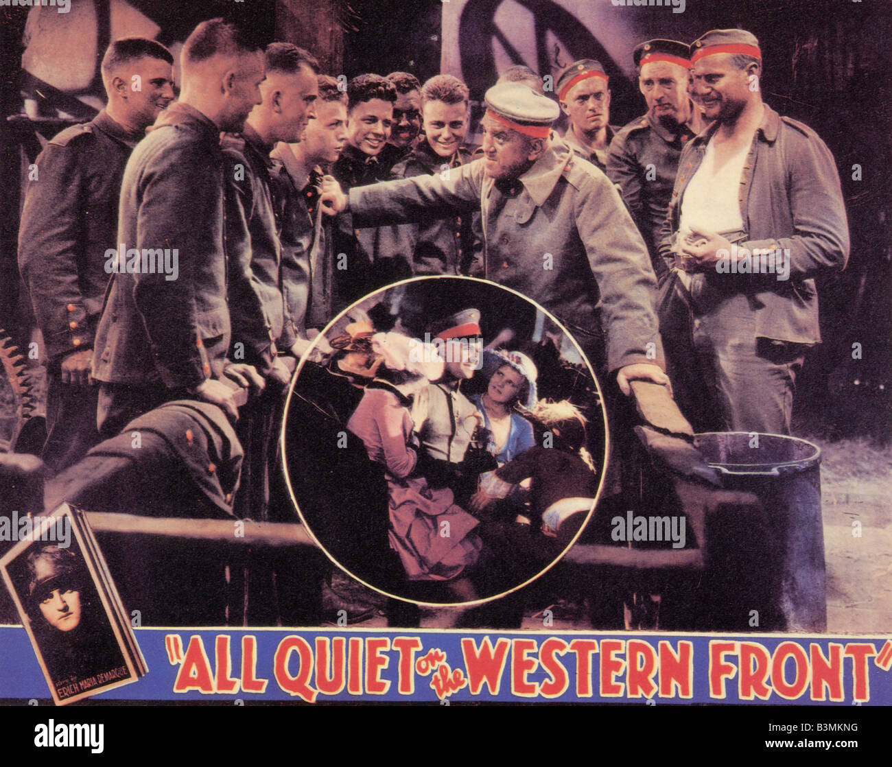 ALL QUIET ON THE WESTERN FRONT 1930 Universal film - Stock Image