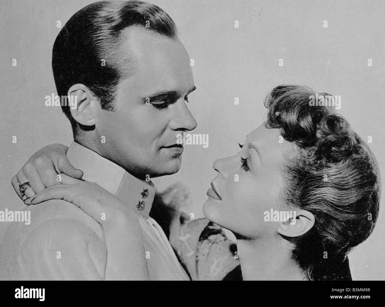BEWARE OF PITY 1956 Two Cities film with Lili Palmer and Albert Lieven - Stock Image