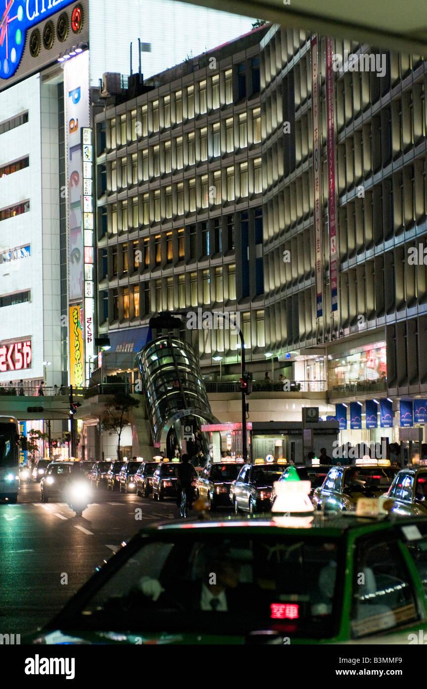 Night at Shinjuku Tokyo Stock Photo