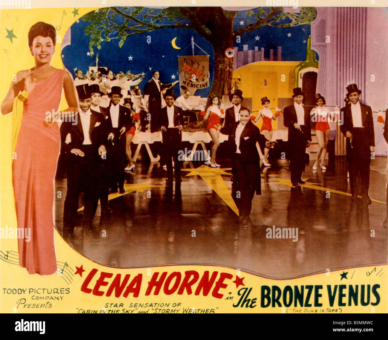 THE BRONZE VENUS aka THE DUKE IS TOPS 1938 Million Dollars Productions film musical - Stock Image