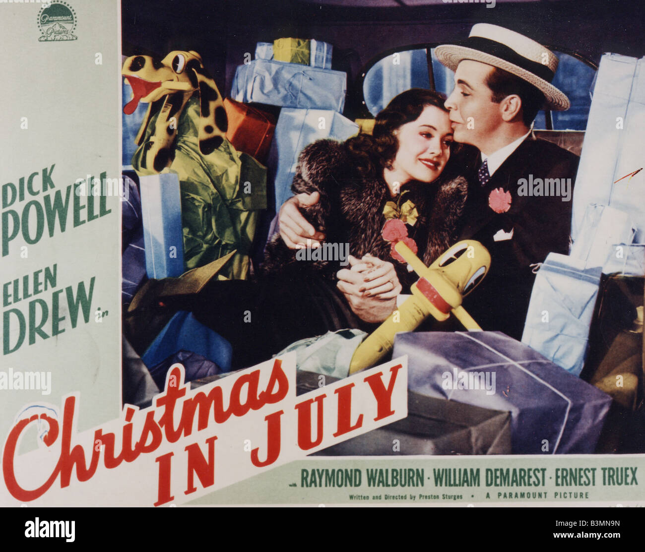 Christmas In July Movie.Christmas In July 1940 Paramount Film With Dick Powell And