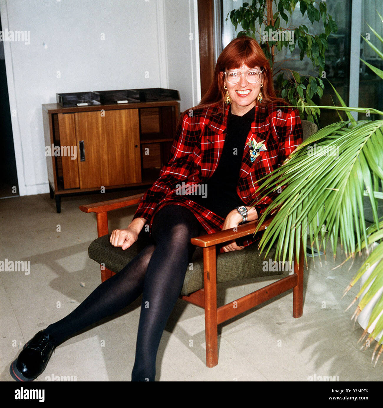 Janet Street Porter TV Presenter - Stock Image