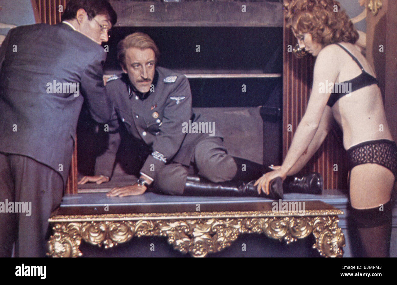 SOFT BEDS, HARD BATTLES 1973 Rank film aka Undercovers Hero with Peter Sellers - Stock Image