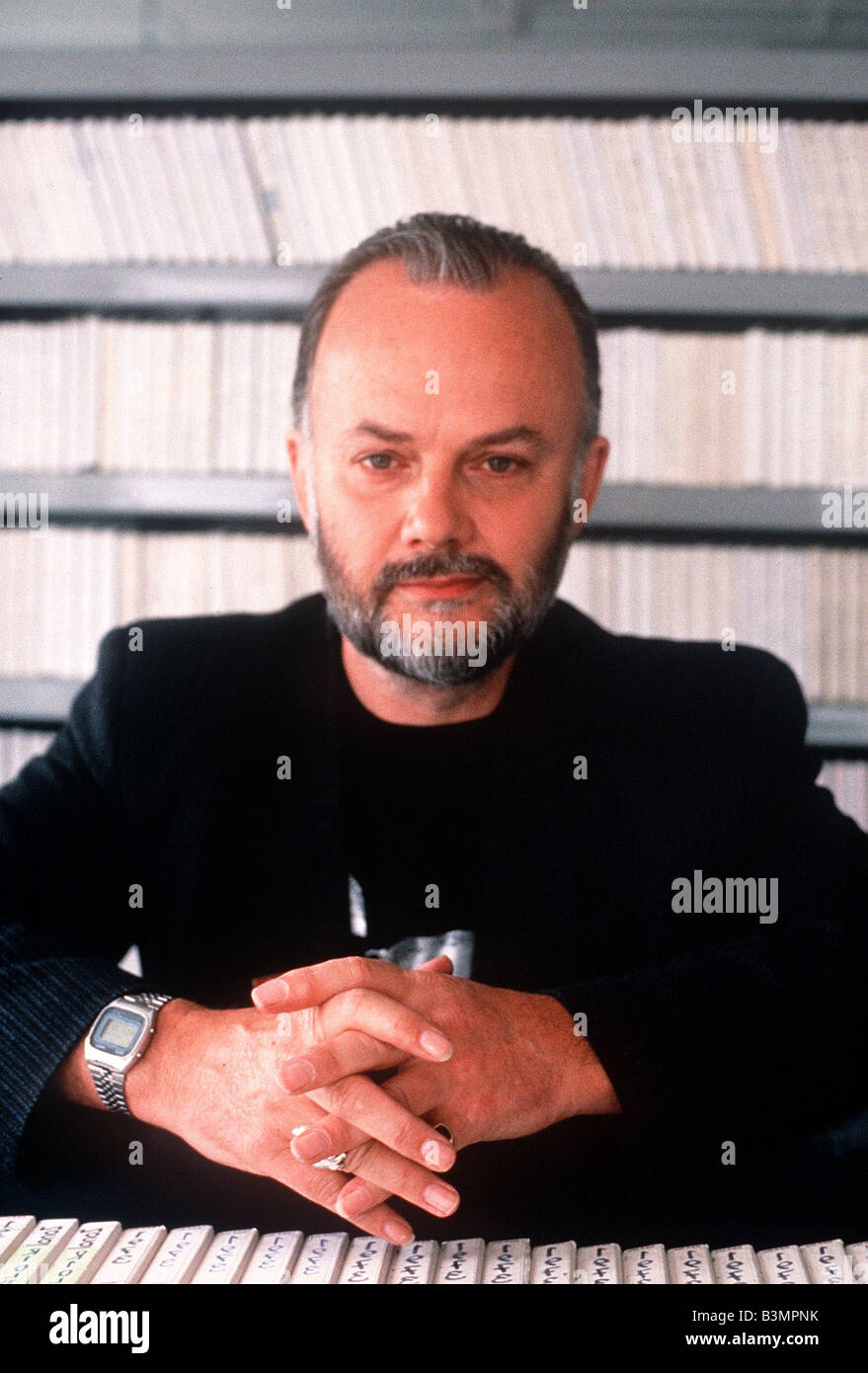 BBC Radio 1 s longest serving DJ and presenter John Peel - Stock Image