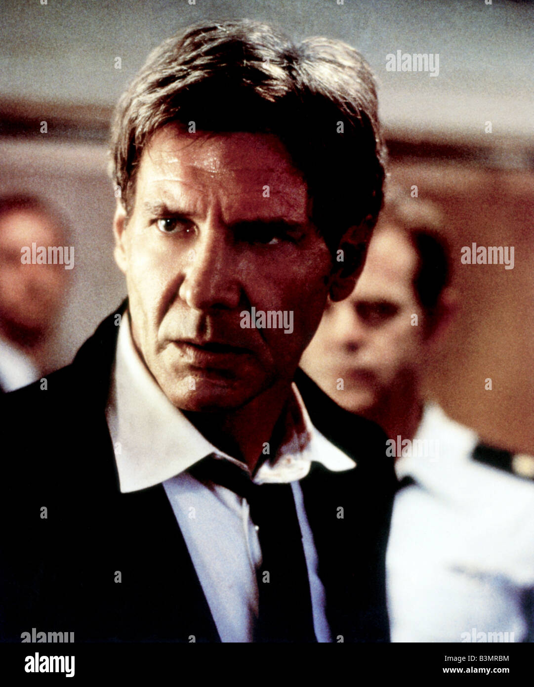 AIR FORCE ONE 1997 Columbia film with Harrison Ford - Stock Image