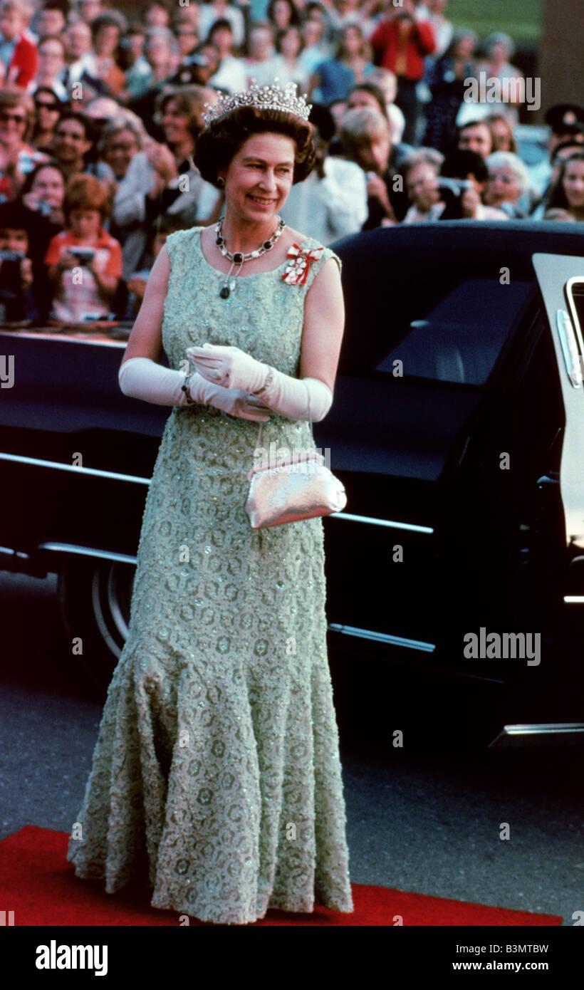 QUEEN ELIZABETH II about 1965 - Stock Image