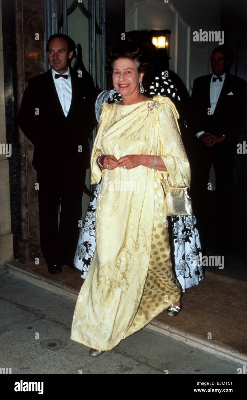 QUEEN ELIZABETH II about 1995 - Stock Image