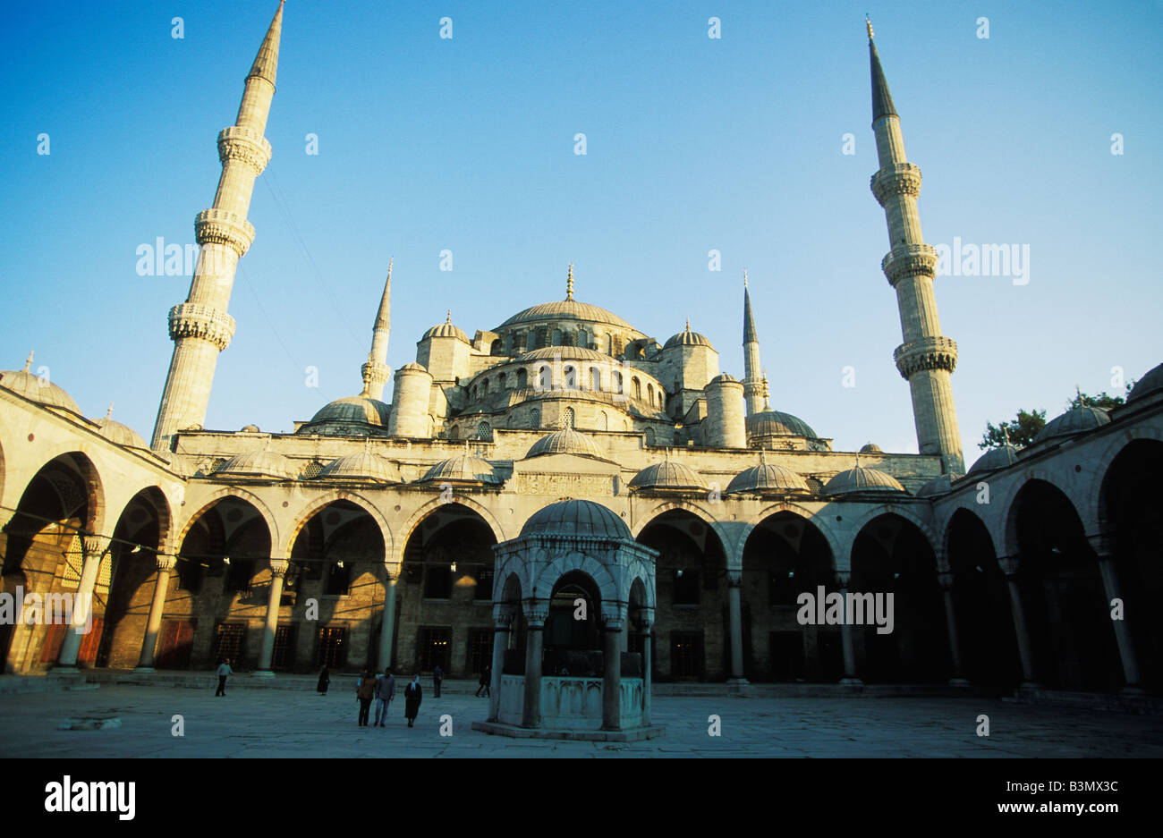 Blue Mosque in Istambul Turkey - Stock Image