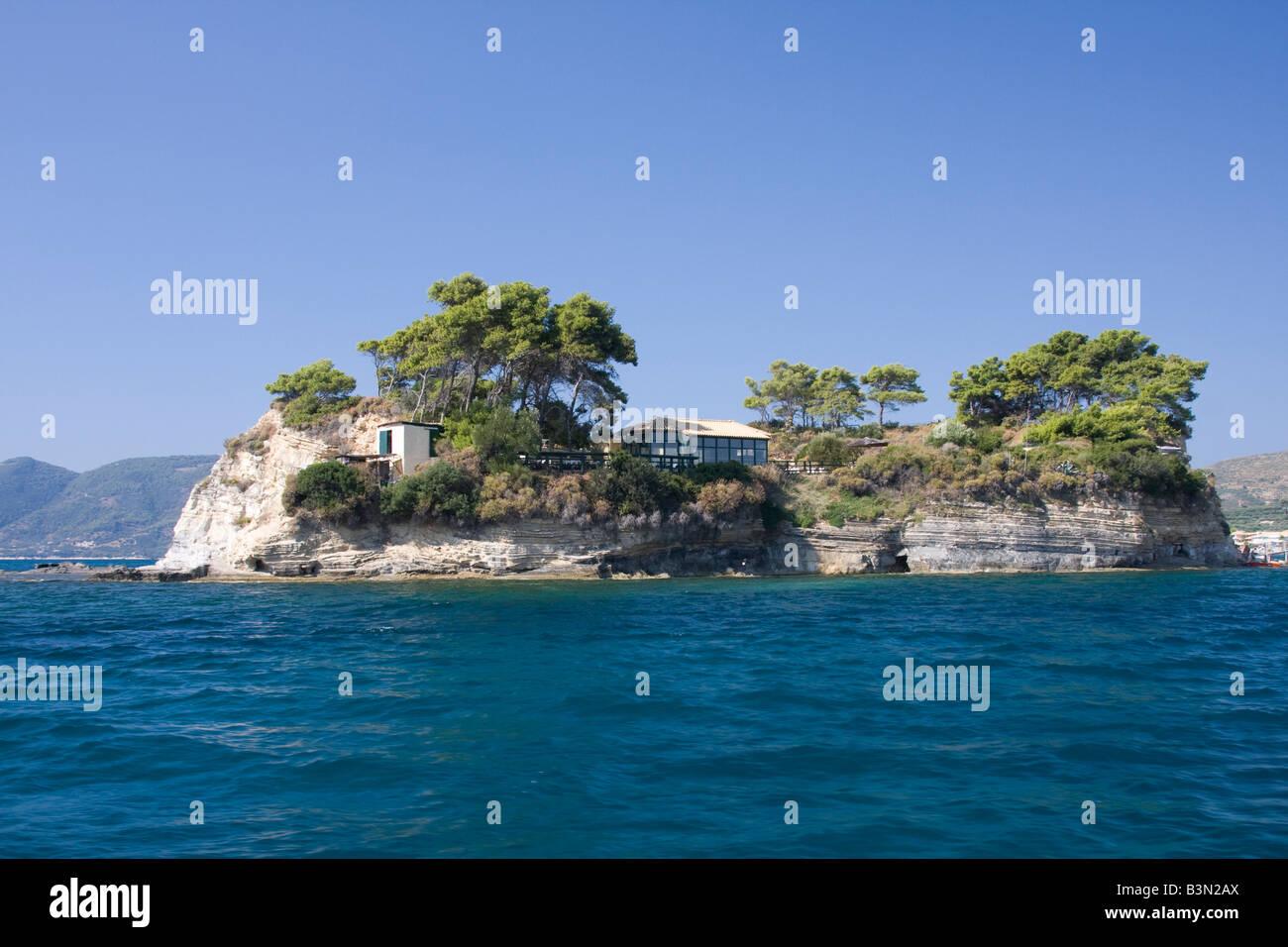 Greece scenery - Stock Image