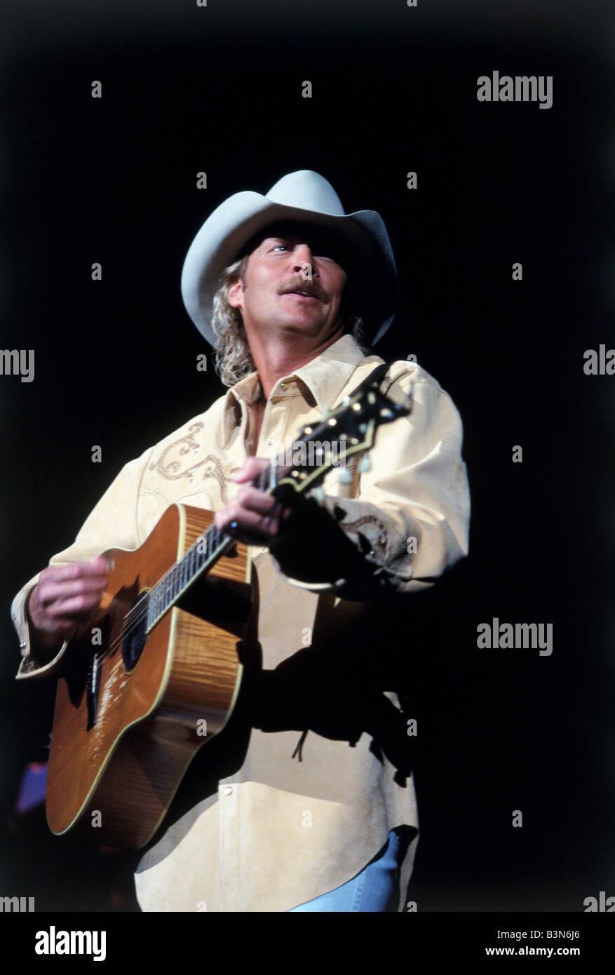 ALAN JACKSON   US Country & Western musician - Stock Image