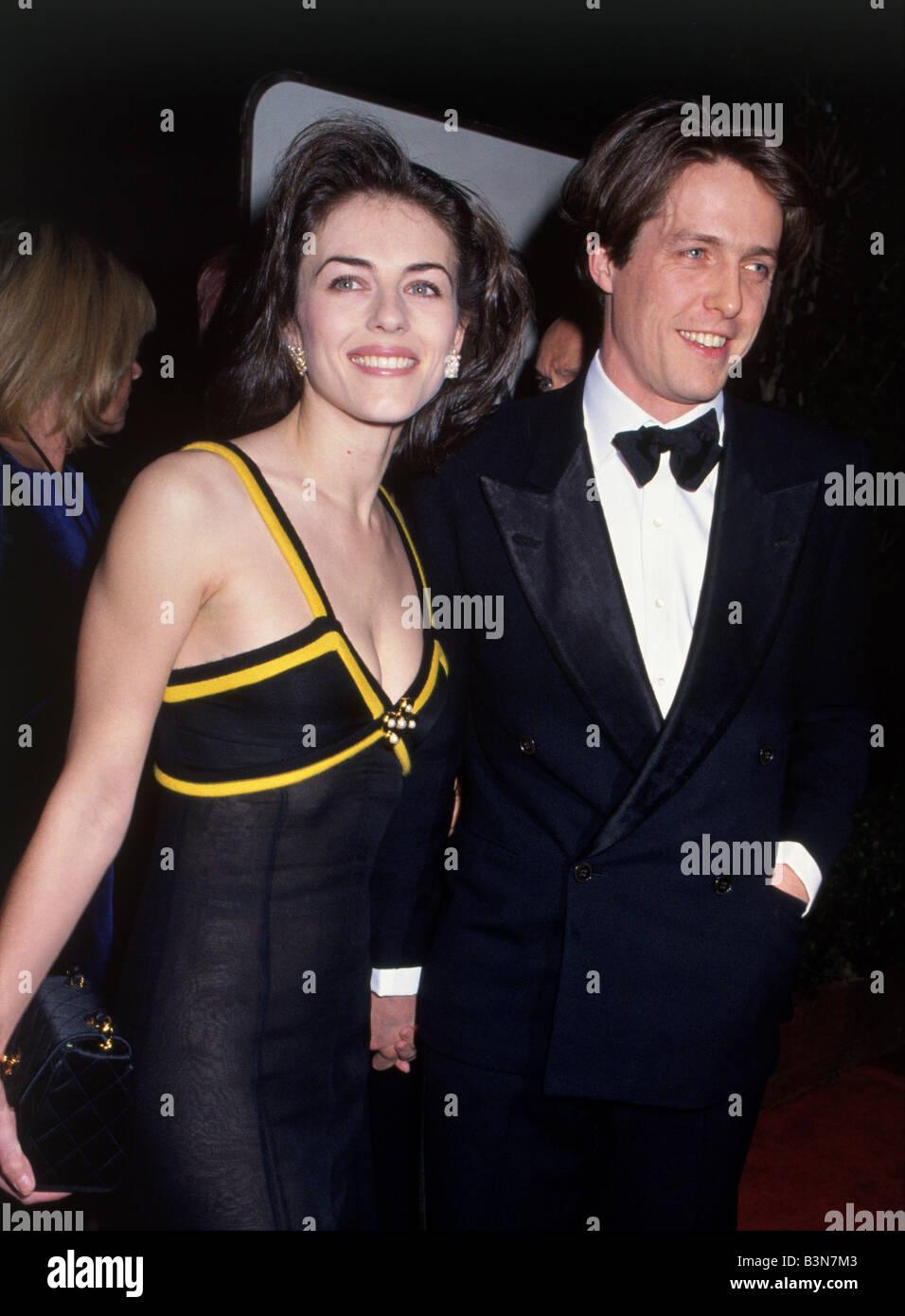 ELIZABETH HURLEY and Hugh Grant - UK actors - Stock Image