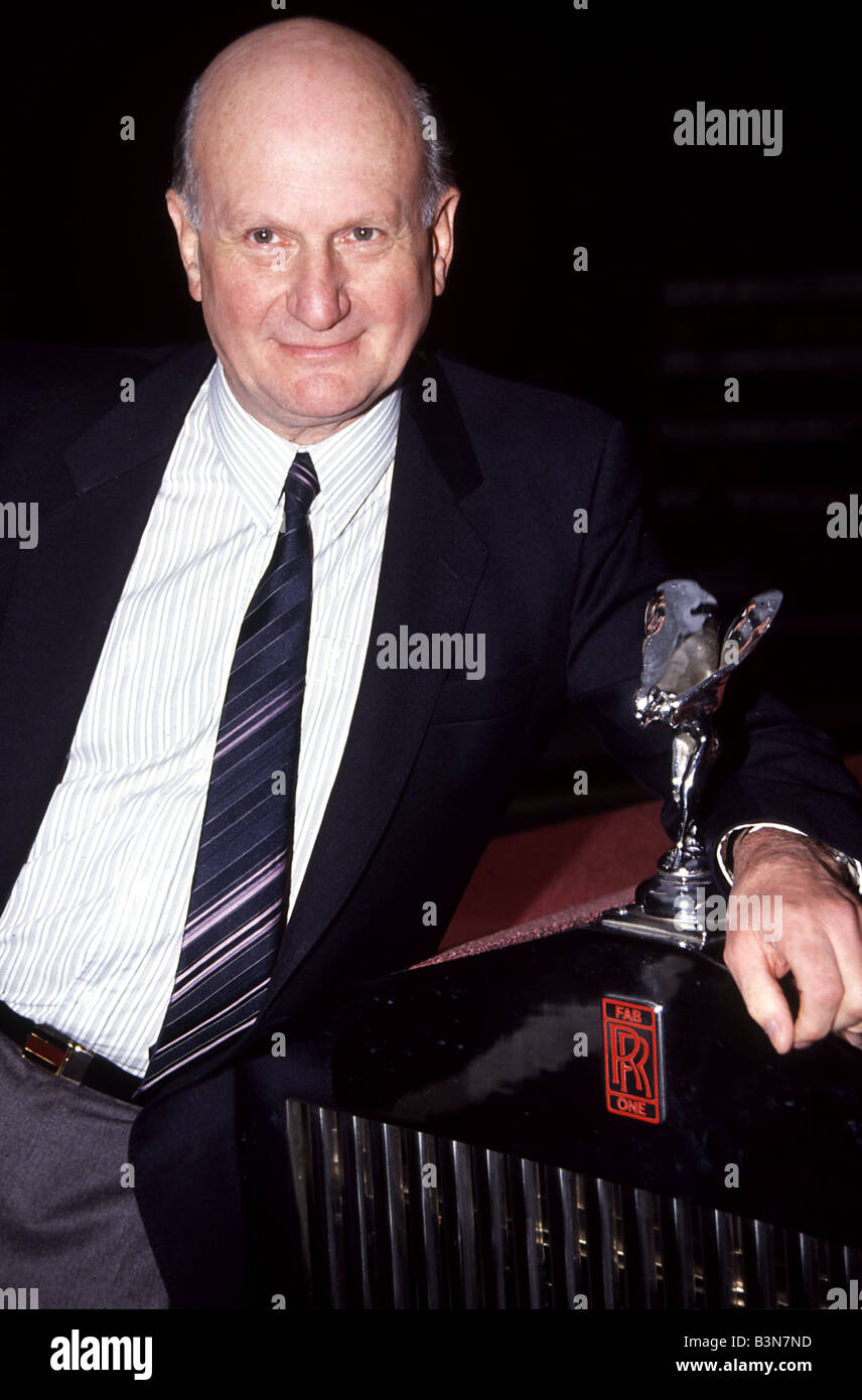 GERRY ANDERSON  UK creator of TV  shows such as Thunderbirds and Space 1999 - Stock Image