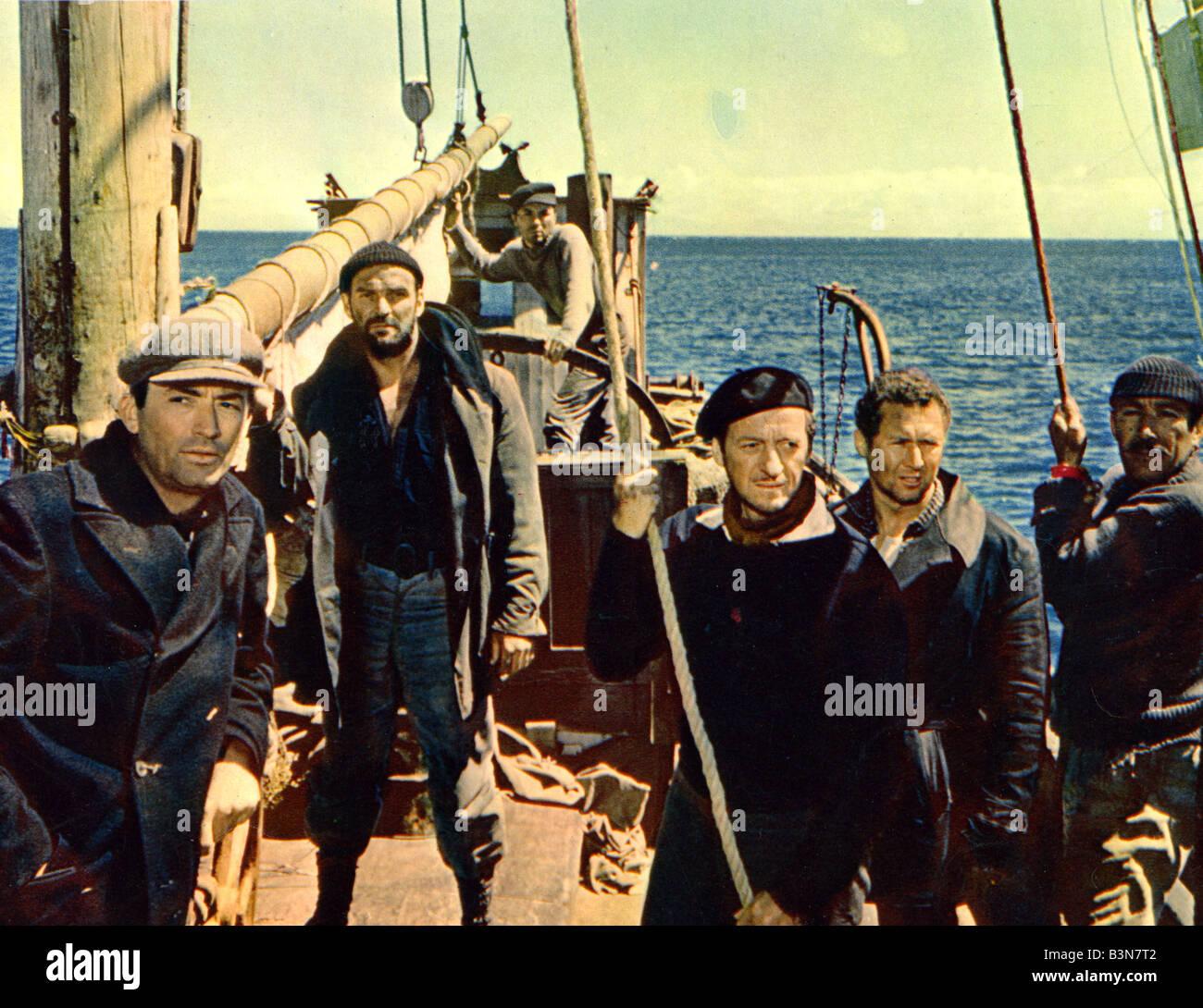 Guns Of Navarone 1961 Columbia Film See Description Below For Cast
