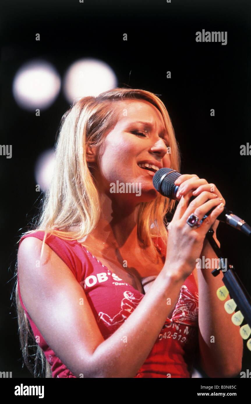 JEWEL  US singer in 1997 - Stock Image