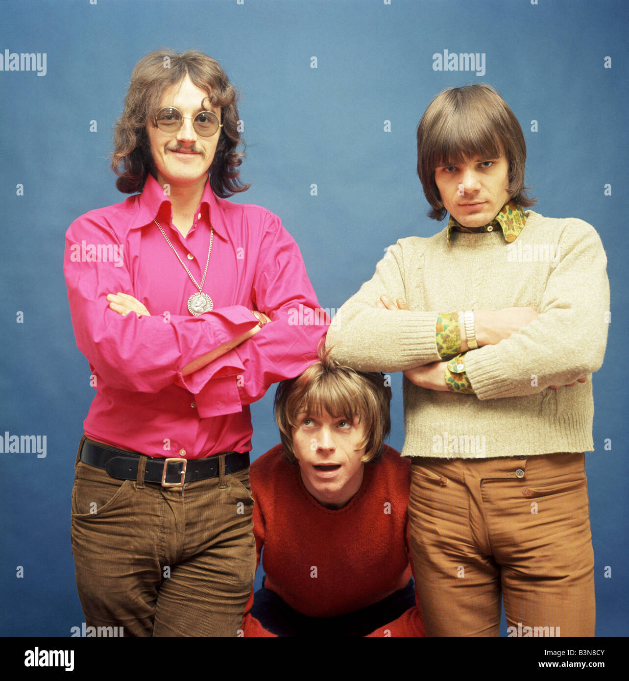 LOVE SCULPTURE  UK pop group in 1968 with Dave Edmunds at bottom - Stock Image