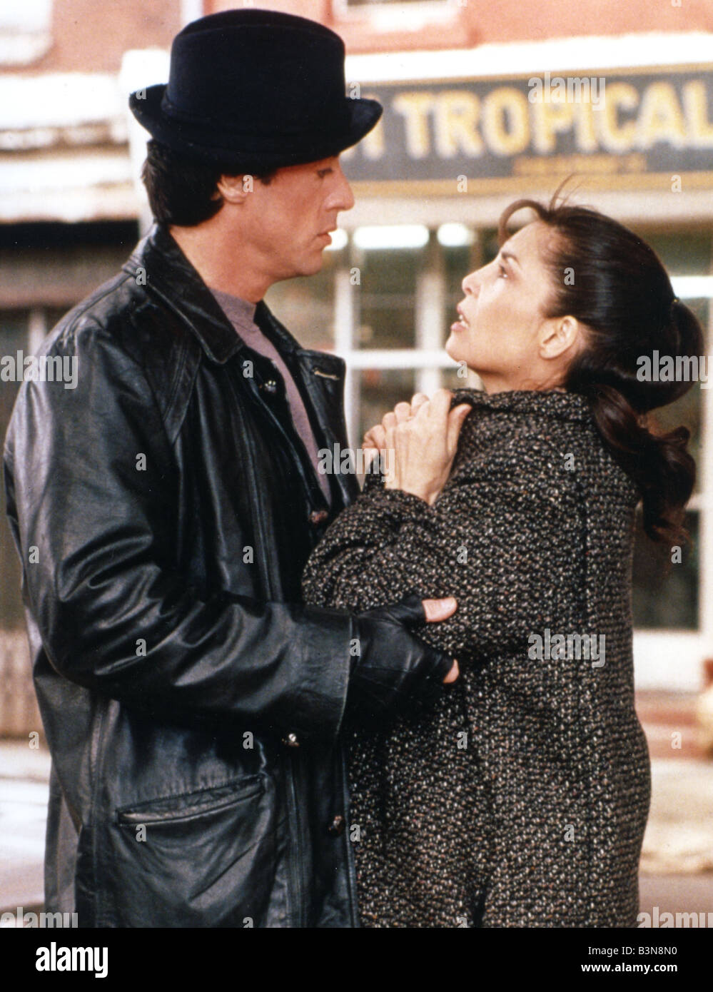 ROCKY V  1990 United Artists film with Sylvester Stallone - Stock Image