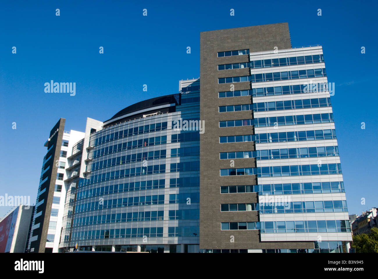 International Business Center Warsaw - Stock Image