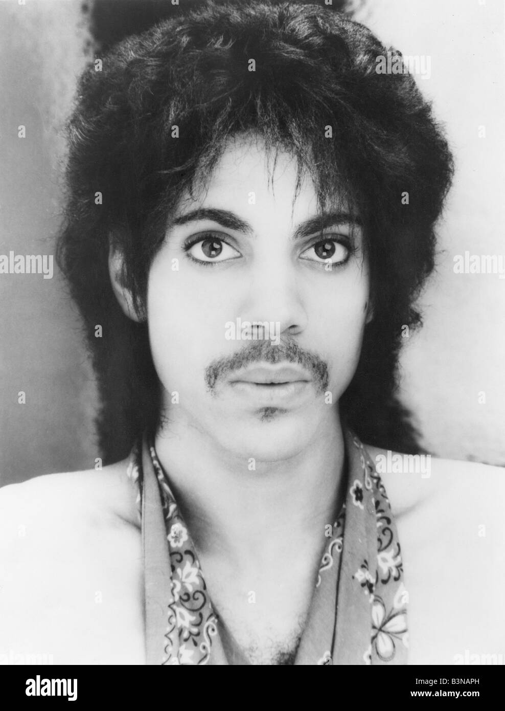PRINCE US musician in 1981 - Stock Image