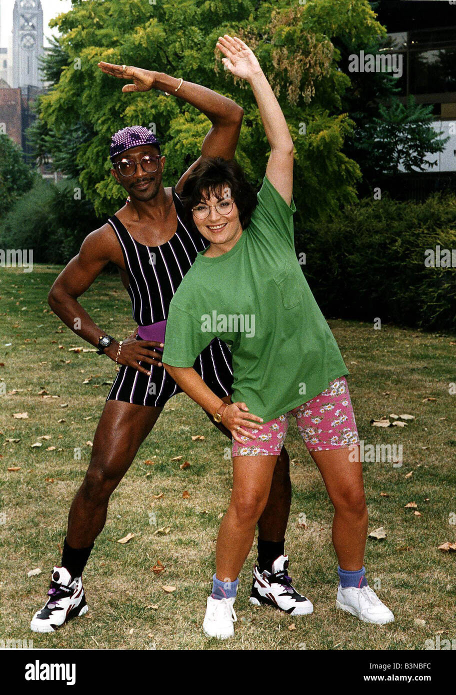 Mr Motivator High Resolution Stock Photography And Images Alamy