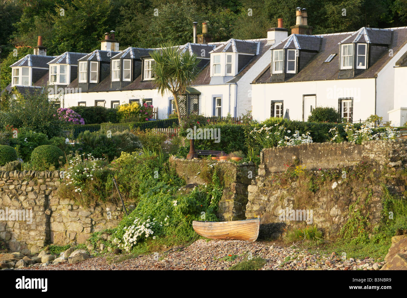 Corrie, Isle of Arran, North Ayrshire, Scotland, UK. - Stock Image