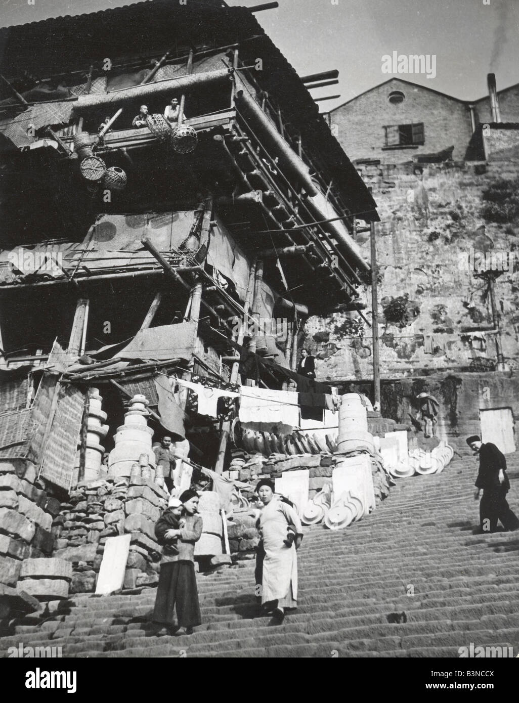 CHUNGKING CHINA in 1946 - Stock Image