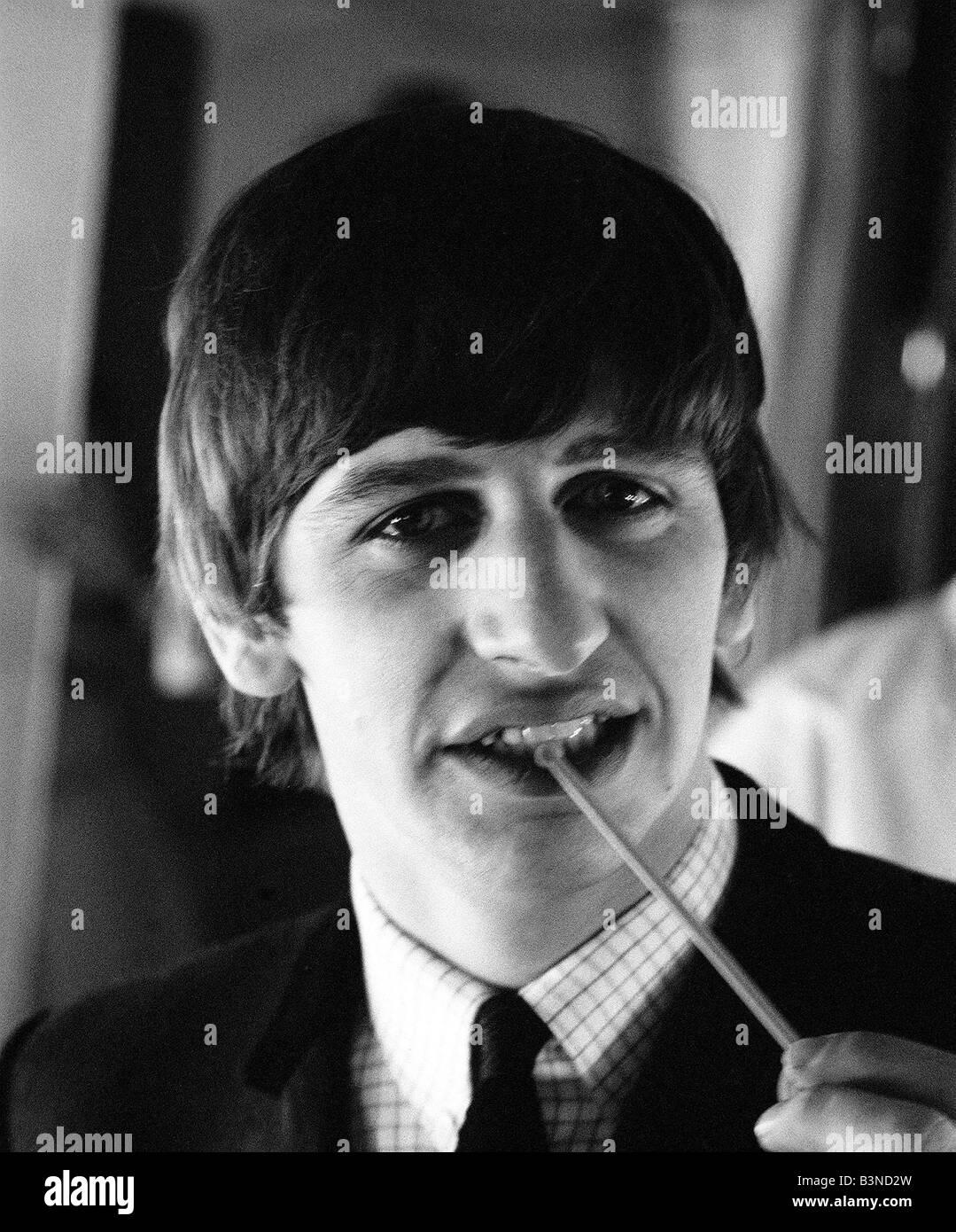 Pop Group The Beatles February 1964 John Lennon Paul McCartney Ringo Starr George Harrison