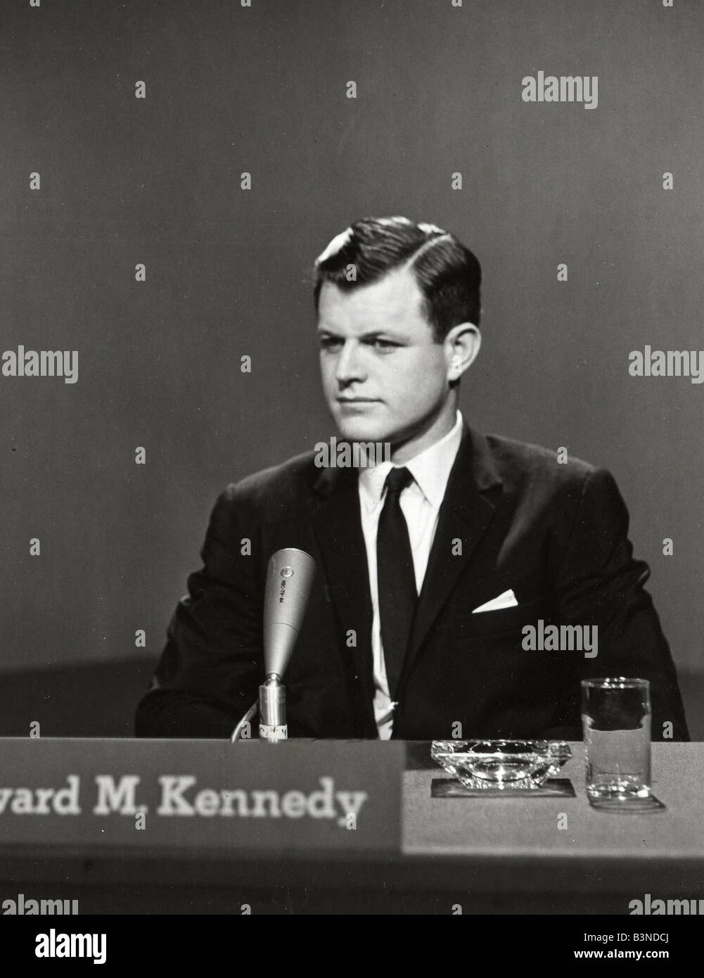 EDWARD 'TED' KENNEDY (1932-2009) US politician in 1962 - Stock Image