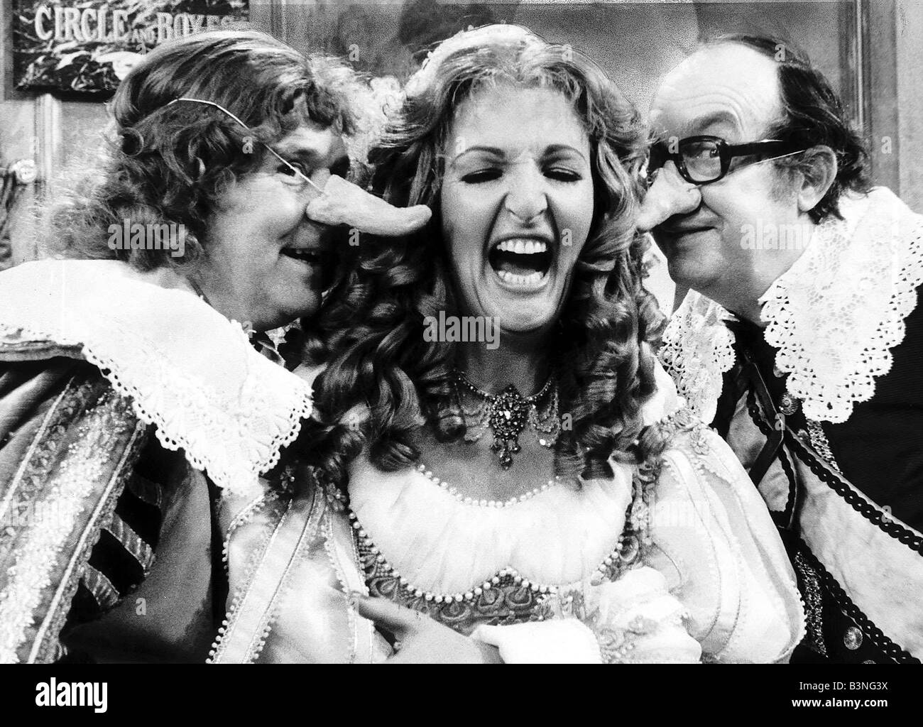 Morecambe Wise Christmas Show with Penelope Keith mirrorpix - Stock Image