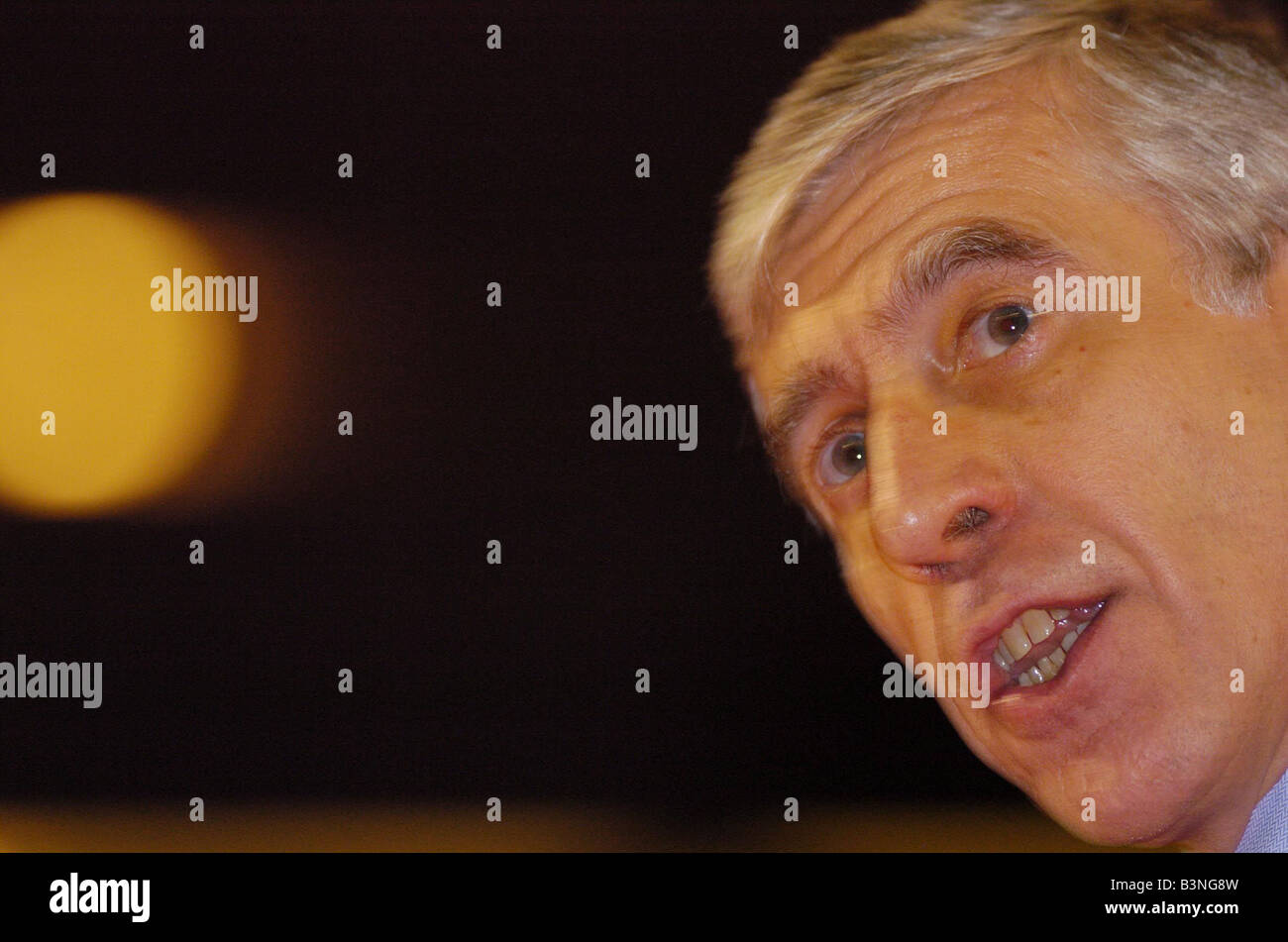 Labour Party Conference September 2004 Jack Straw - Stock Image