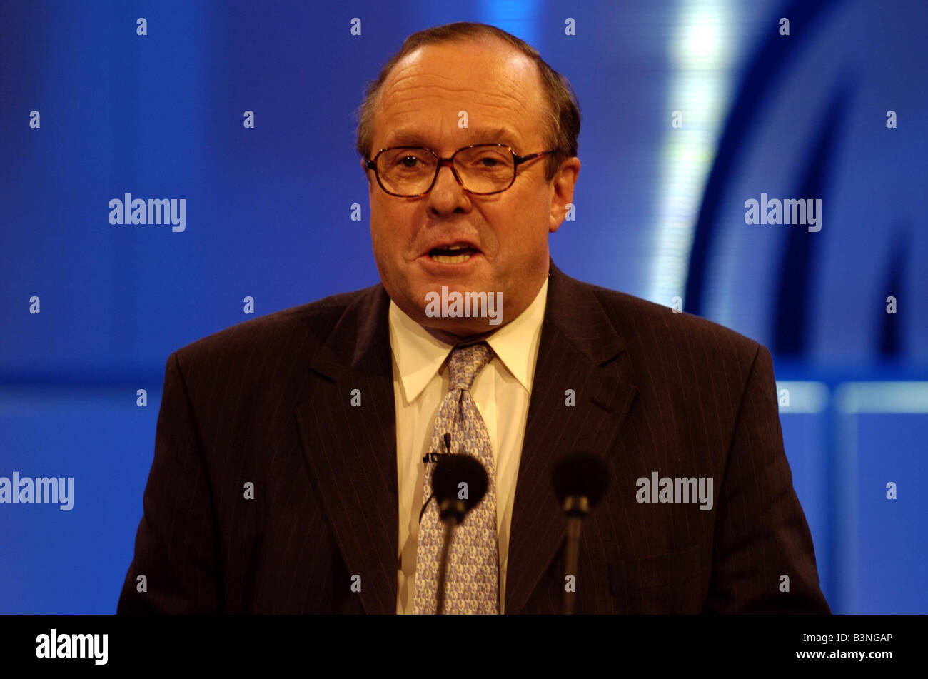 Michael Ancram at Tory Party Conference in Bournemouth 2004 - Stock Image