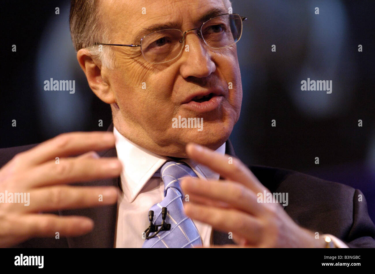 Conservative leader Michael Howard at Tory Party Conference in Bournemouth 2004 - Stock Image