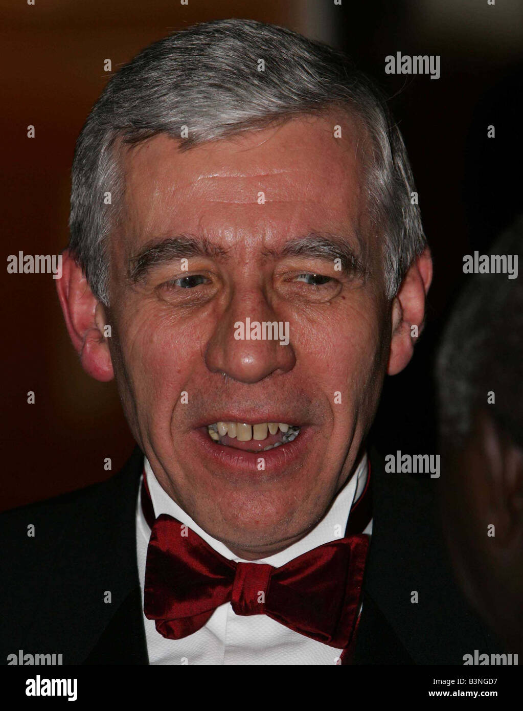 Jack Straw attends the Stephen Lawrence Charitable Trust dinner to celebrate education and Diversity November 2004 - Stock Image