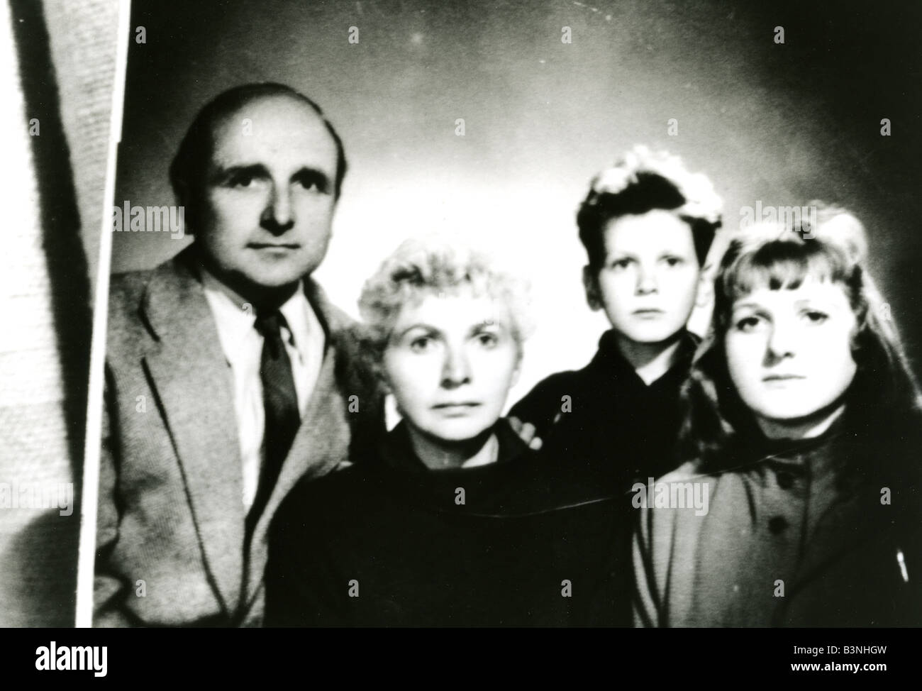 KLAUS BARBIE Nazi war criminal who headed operations against the French resistance in World War Two sen post war - Stock Image