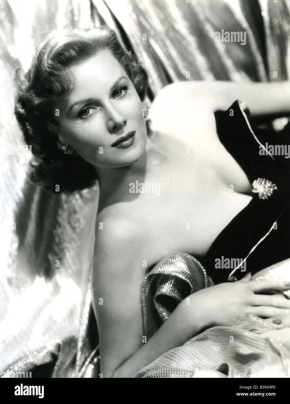 RHONDA FLEMING  US film actress - Stock Image