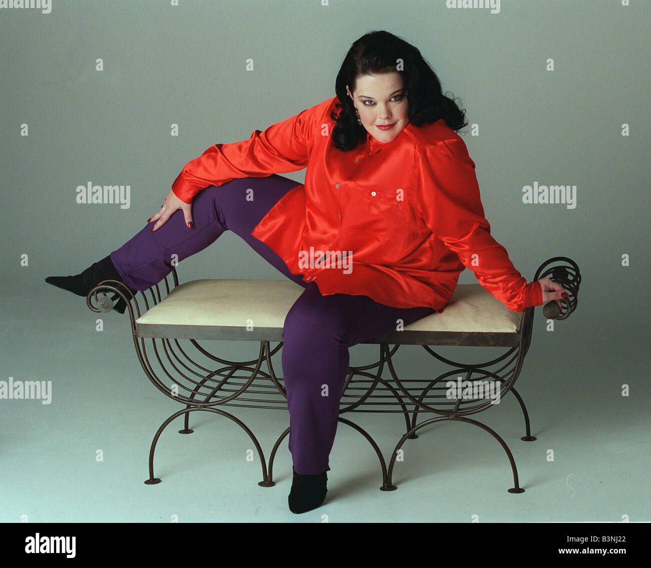 Actress Lisa Riley March 2000 - Stock Image