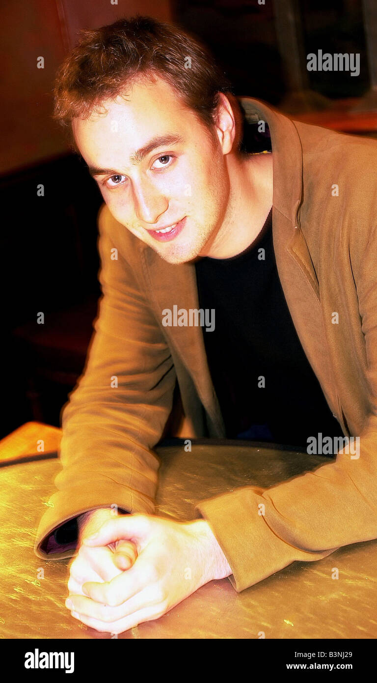 Actor Chris March who stars in the BBC drama series Rescue Me in which he plays a photographer March 2002 - Stock Image
