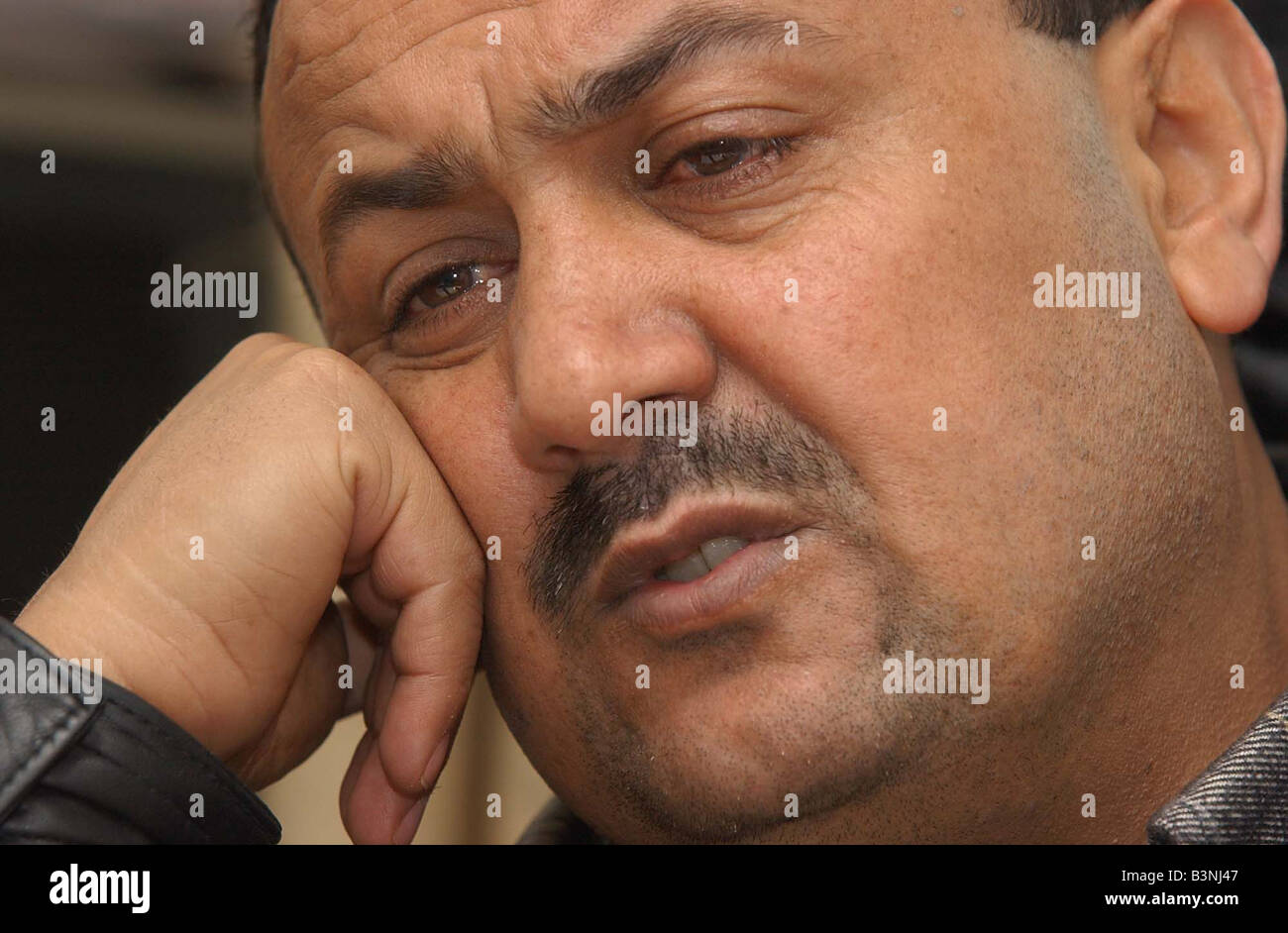 Mirror Interview with Israel S No 1 most wanted man Head of the Tanzim Faction of Yasser Arafat s Fatah Party Marwan - Stock Image