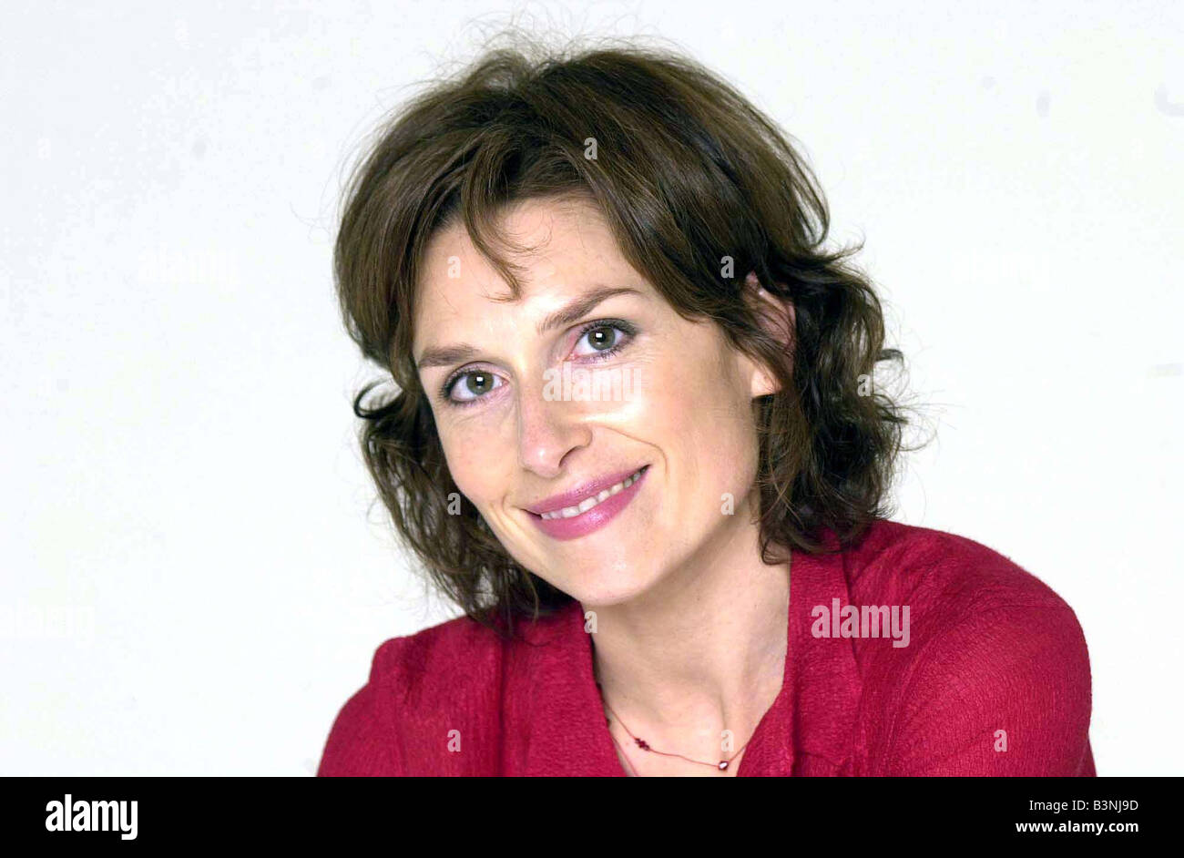 BBC actress Amelia Bullmore October 2002 in new series of Alan Partridge starting in autumn - Stock Image