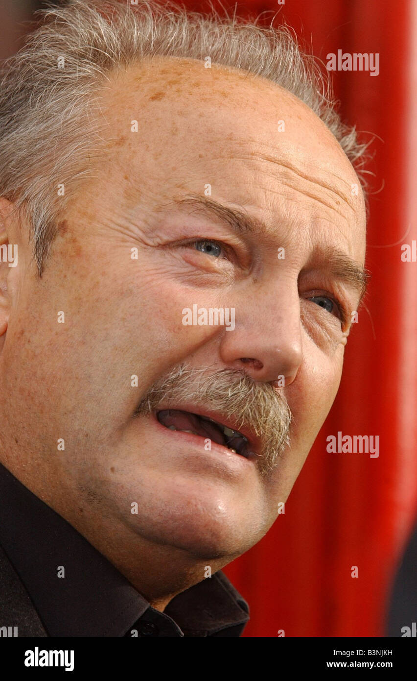 MP George Galloway arrives at his Glasgow Constituency Office October 2003 - Stock Image