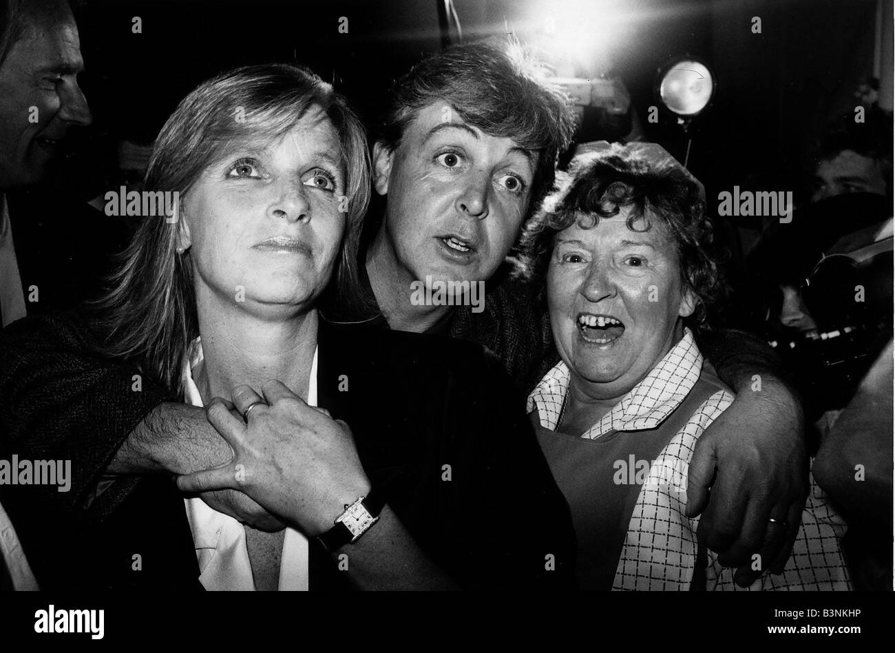 Paul McCartney Singer and Song Writer at Sergeant Pepper s 20th birthday bash at the Abbey Road studios in St John - Stock Image