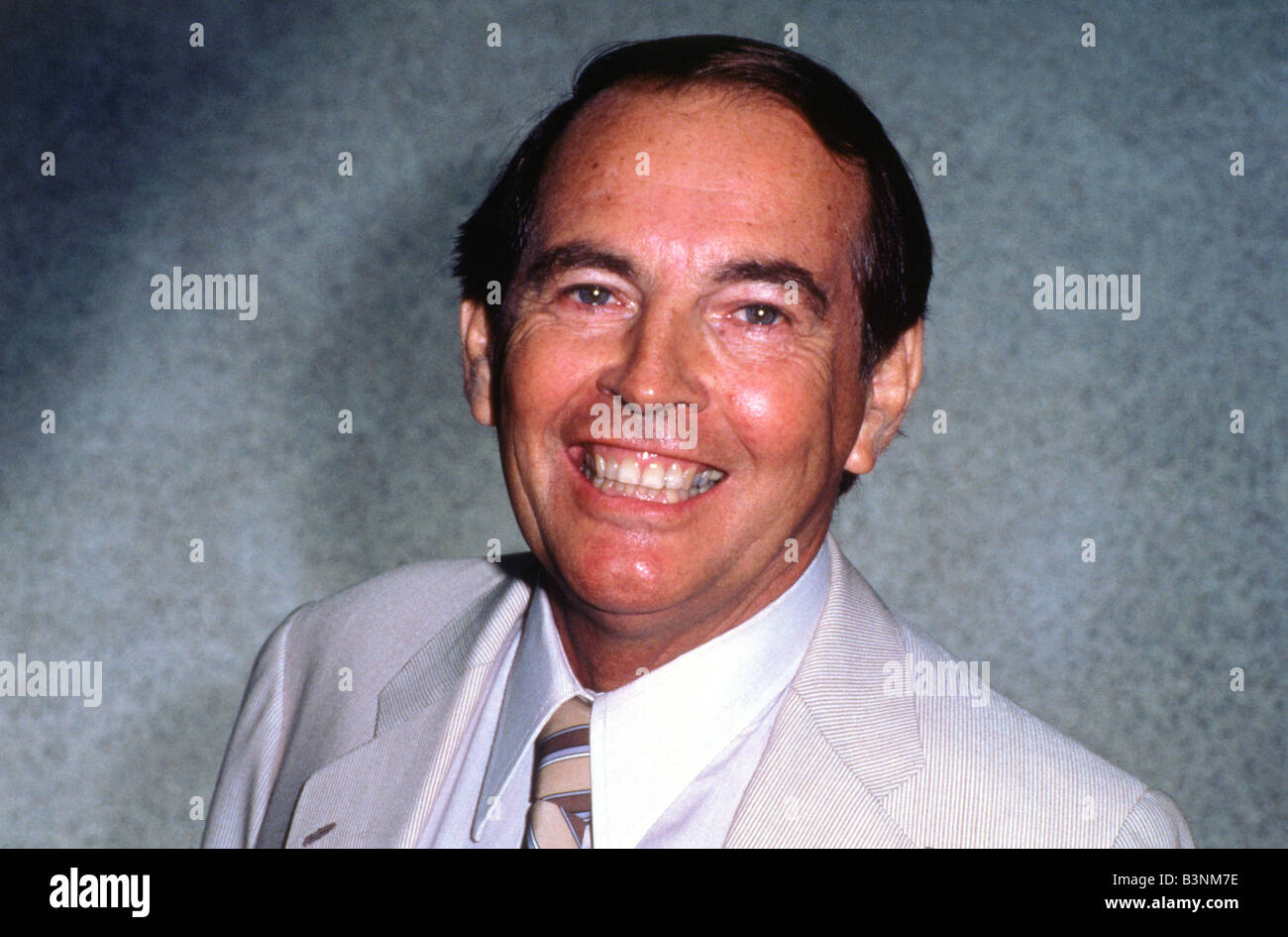 DR CHRISTIAAN  BARNARD  South African pioneering heart surgeon 1922 to 2001 seen here in  1987 - Stock Image