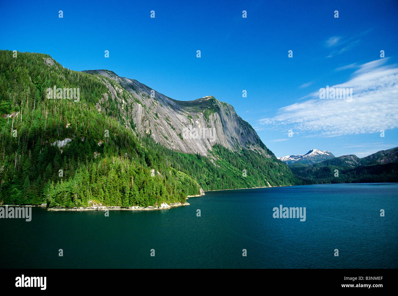 Tongass National Forest, Misty Fiord National Monument, Alaska, USA - Stock Image
