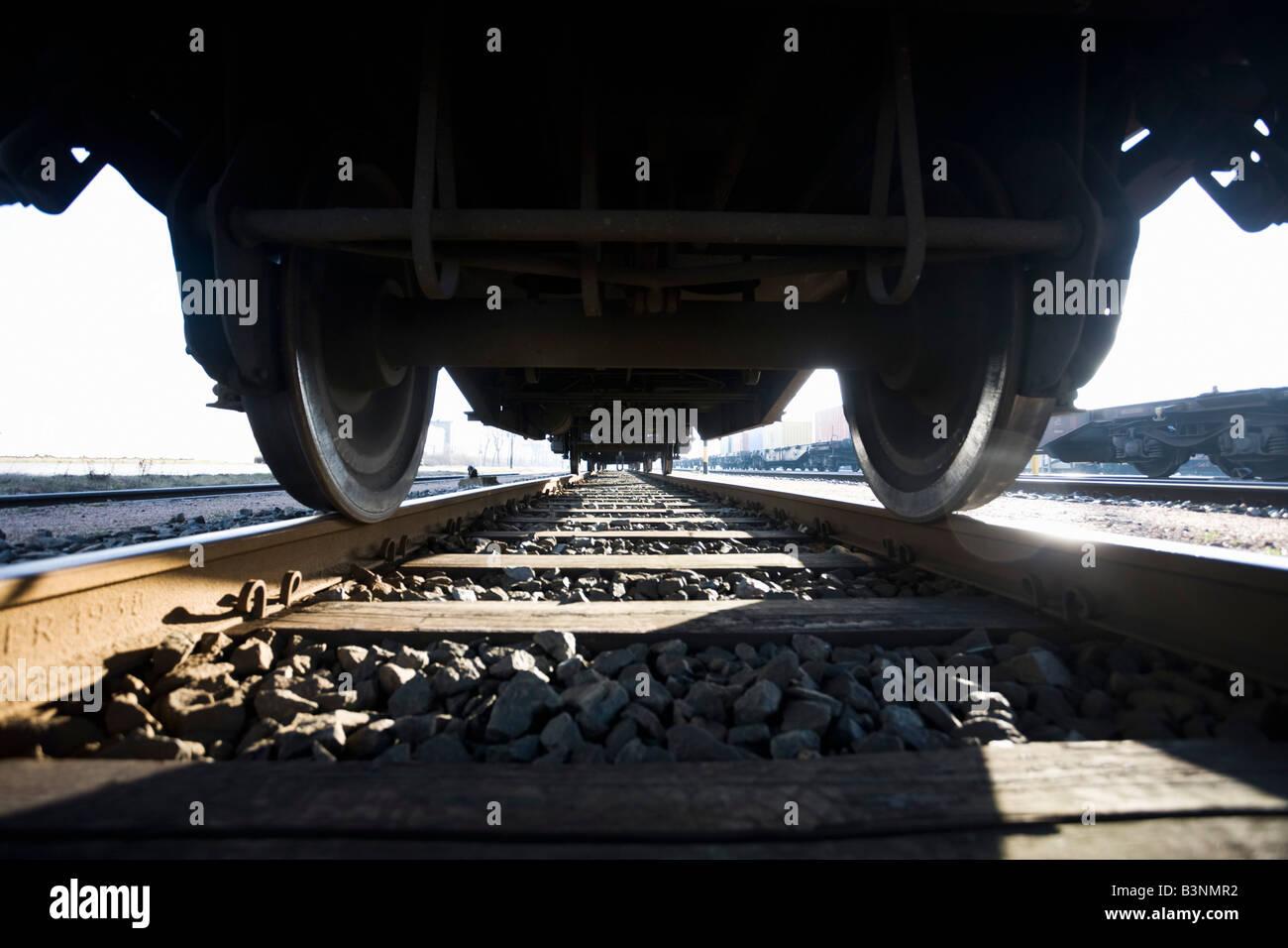 Germany, railway-car - Stock Image