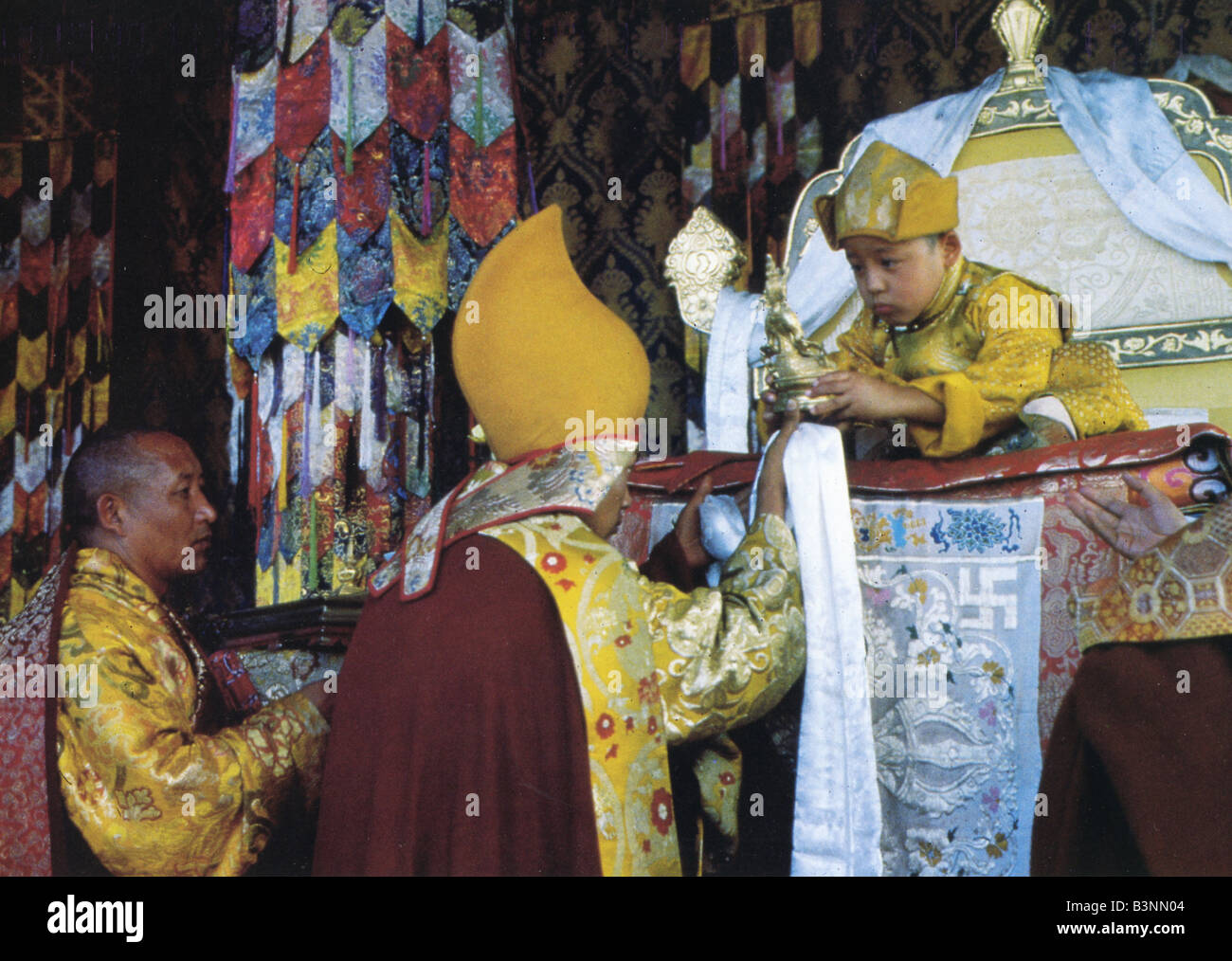 KUNDUN  1997 Buena Vista/Touchstone film biopic of the Dalai Lama - Stock Image